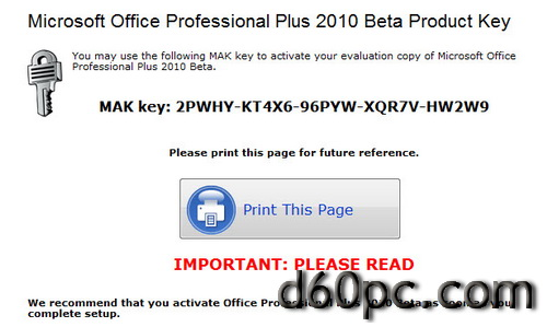 keygen of microsoft office 2010